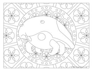 Free Printable Pokemon Coloring Page Kabuto Visit Our For More Fun All Ages Adults And Children