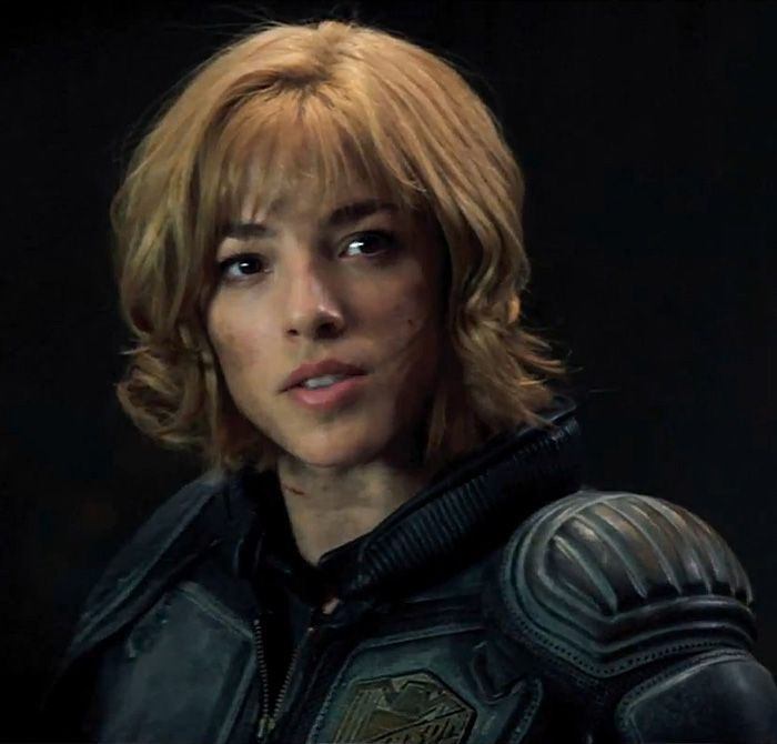 Anderson features heavily in the upcoming feature film Dredd 3D, played by Olivia Thirlby. Description from theliberati.net. I searched for this on bing.com/images