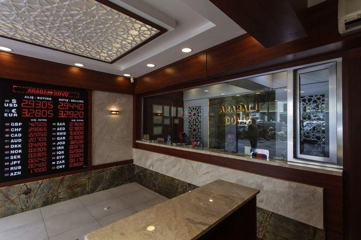 Arabacı Doviz Tasarım, doviz bürosu, kuyumcu dekorasyon, kuyumcu dekorları, mermer dekorasyon, green marble
