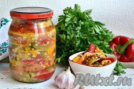 Перец по-грузински на зиму - это совершенно простой рецепт замечательной, очень вкусной, ароматной, остренькой заготовки. Из данного количества продуктов получается 1 литровая баночка перца.
