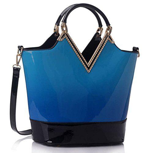cool Ladies Handbags Womens Large Bags Shoulder Patent Leather Designer style