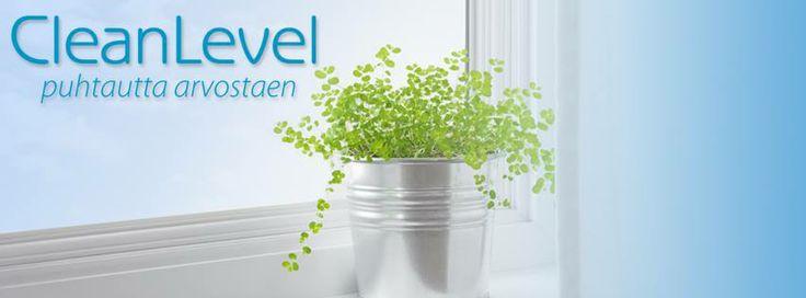 CleanLevelin uudet nettisivut suunnitteli Z-Factory. www.cleanlevel.fi