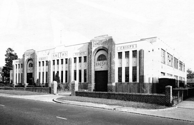 The Smiths Crisps factory in Brislington, Bristol. For many years a popular landmark. Now, just a memory...