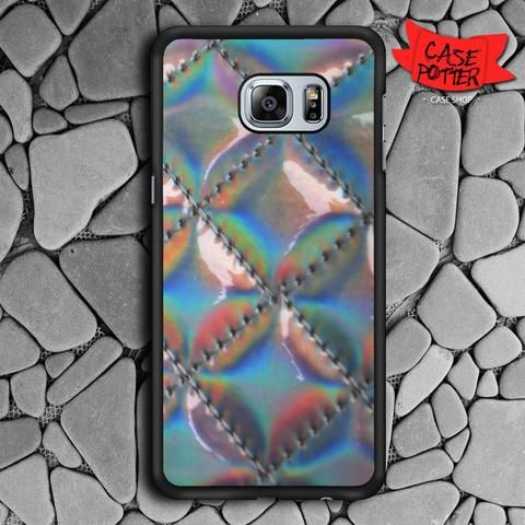 Diamond Hologram Samsung Galaxy S6 Edge Plus Black Case