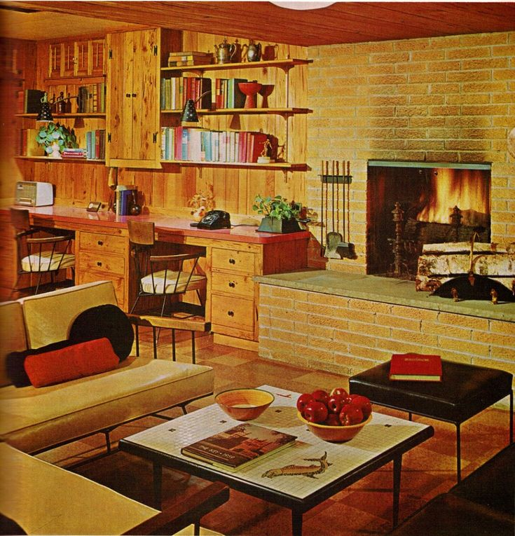 1000 images about 60 39 s and 70 39 s home decor on pinterest for 60s apartment design