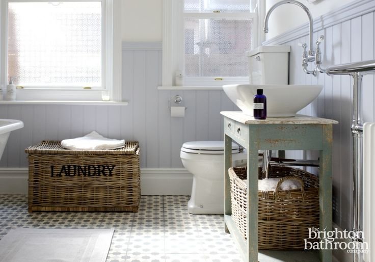 Quirky on Trend Family Bathroom with Bespoke Cabinet —Surrenden Road, Brighton | The Brighton Bathroom Company