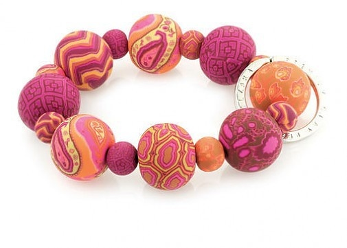 Jilzara MOROCCO Wrist Key Chain Handcrafted Premium Polymer Clay Beads Key Ring  http://stores.ebay.com/beachcats-bargains  beachcats bargains: Morocco Wrist, Beads Keys, Pink Morocco, Polymer Clay Beads, Keys Rings, Wrist Keychains, Jilzara Keychains, Beads Wrist, Morocco Beads