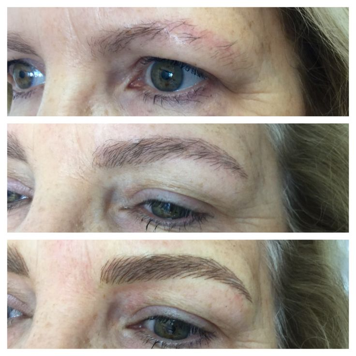 Brow Embroidery - it's a process, good brows take time