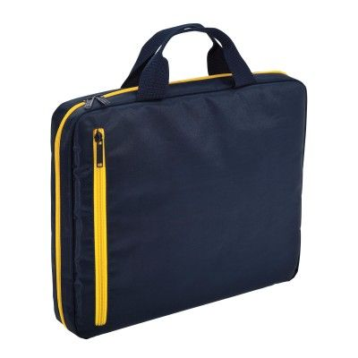N-case 15 Laptop Satchel with padded sleeve to fit 27cm x 35cm laptop. Zippered front pocket. (1102_LEGEND)