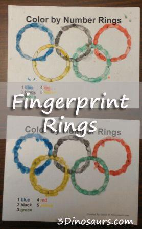 Making Fingerprint Rings for the Olympics - 3Dinosaurs.com