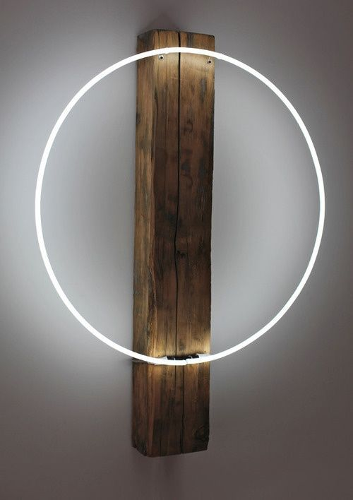 #minimal #art #light - could make this.