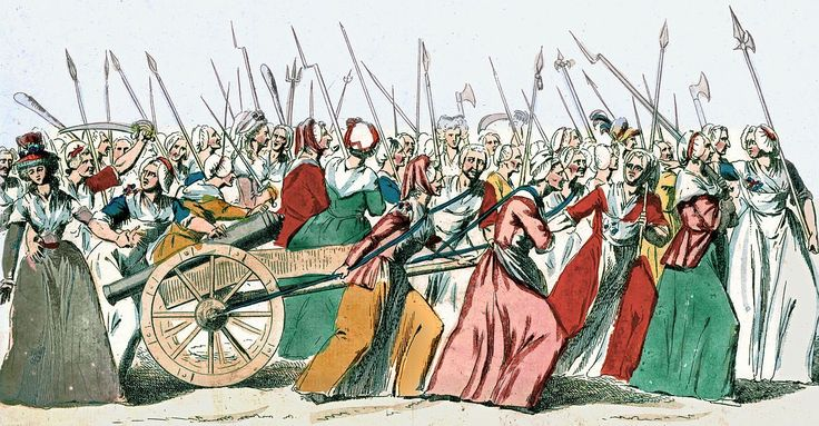 @radicaldaily  Oct 5 1789 - Parisian women march to Versailles demanding bread, the abolition of feudalism and other reforms from Louis XVI.  Oct 5 1789 - Parisian women march to Versailles demanding bread, the abolition of feudalism and other reforms from Louis XVI.