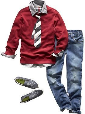 Boys Clothes: Featured Outfits Outfits We Love | Old Navy --not the skull shoes