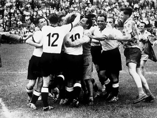 1954 World Cup of Soccer   West Germany Defeats Hungary