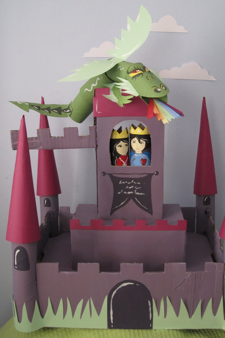 Paper Castle 2 manumanie-kids: Castello di cartone