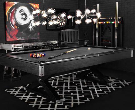 I want it!! Jaxxon Pool Table from Z Gallerie