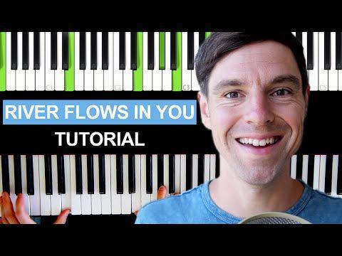 """Klavier spielen lernen """"River flows in you"""" Teil 1 - sehr einfach für Anfänger - How to play piano - YouTube"""