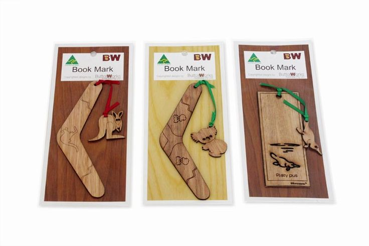 Handmande Australian Animal Bookmarks (Set of 3)