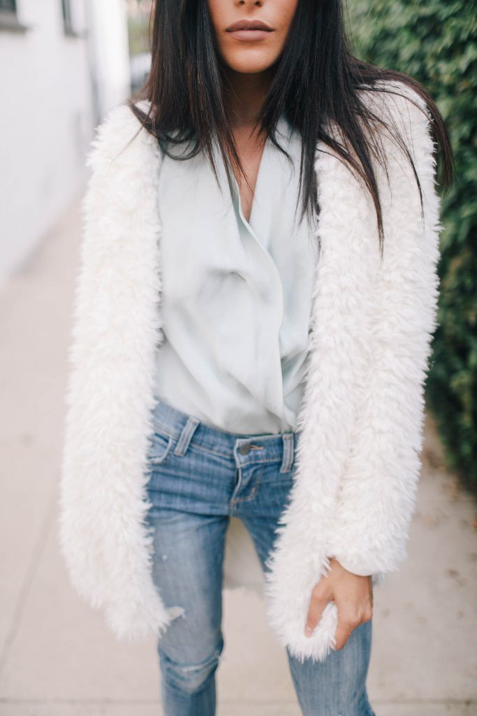 holiday, style, fashion, fuzzy, giveaway, freebie friday, blogger, street style, sazan hendrix, jon volk, photography, los angeles, siwy denim, how to style, shein, shopping, bishop and young, who what wear, target style
