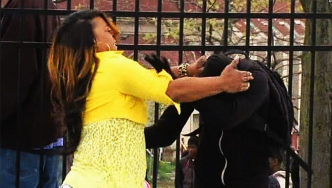 Child Protective Services Launch Investigation On Baltimore Mom Who Hit Son