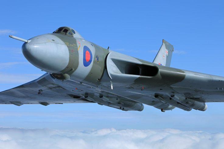 The last flying Vulcan bomber.