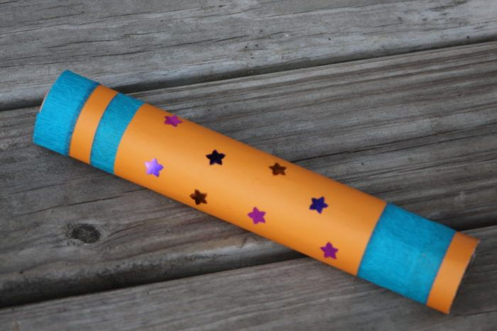 Galactic Starveyors Telescope Craft tutorial and other Alternative Craft Ideas. http://rebeccaautry.com/lifeway-galactic-starveyors-vbs-2017-alternative-craft-ideas/