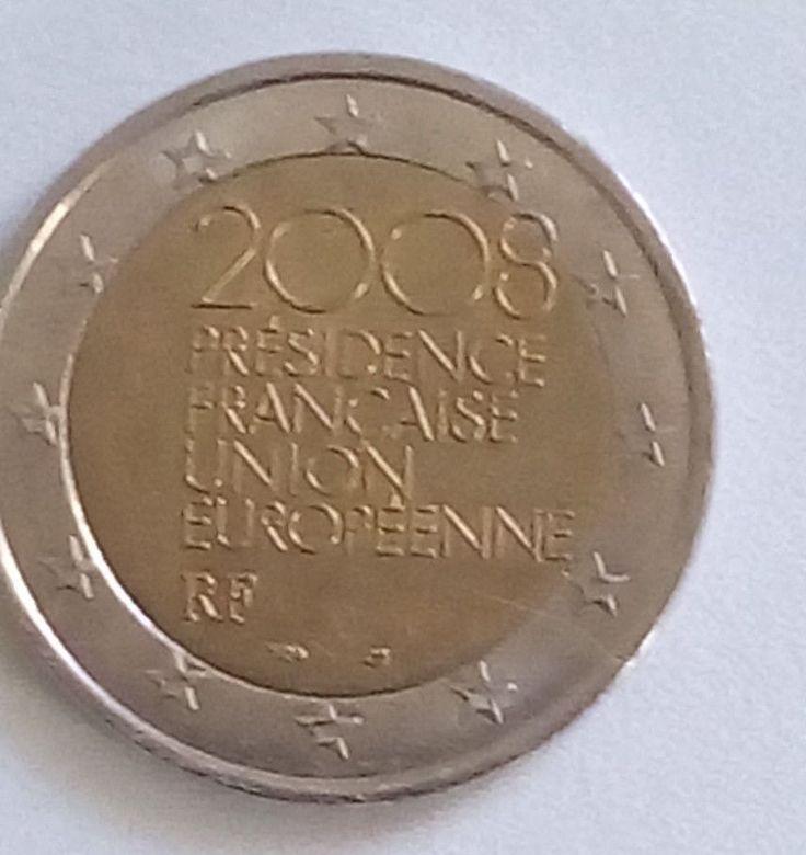 2 Euro Frankreich 2008 Fehlprägung Sterne Verprägung Unikat
