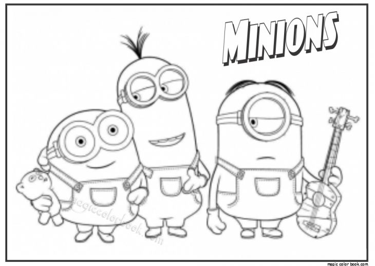 248 best Minions coloring pages images on Pinterest Coloring books