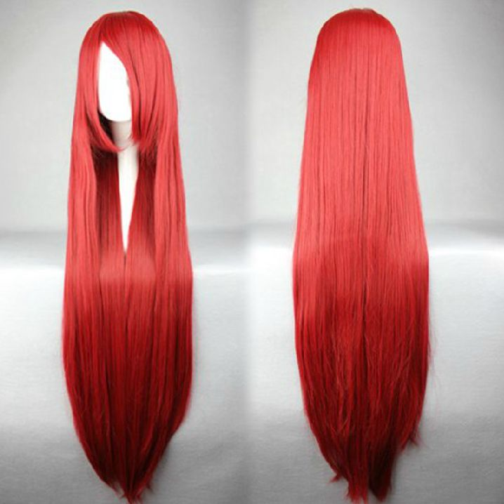 Wig Detail Fairy Tail Erza Scarlet Wig Includes: Wig, Hair Net Length - 100CM Important Information: Fitting - Maximum circumference of 55-60CM Material - Heat Resistant Fiber Style - Comes pre-style