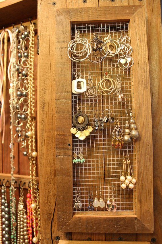 Jewelry Organizer Wall Mounted Jewelry Display Wall Mount Jewelry