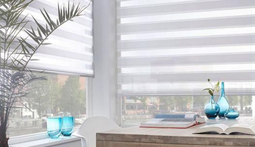 Slaapkamer Raamdecoratie : Bestel eenvoudig en snel uw licht grijs ...