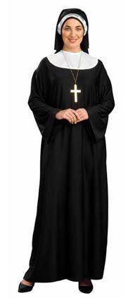 plus size costumes for women | sized halloween costumes women s plus size nun halloween costume
