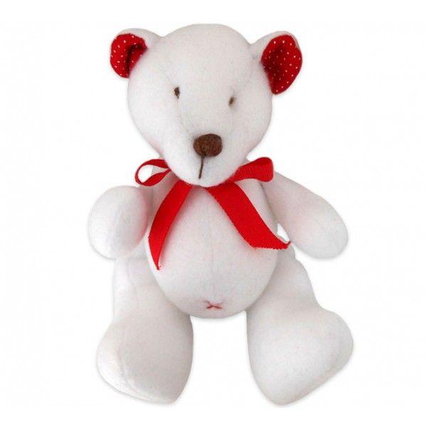 Muito meigo, o Ursinho Ted vai ser um ótimo companheiro para aconchegar seu pequeno. Muito delicado, o ursinho é feito inteiramente em tecido. Seu rostinho é todo bordado à mão, não tendo nenhum elemento que incomode a criança. E o enchimento é antialérgico, anti-mofo e antibacteriano. Seus tons neutros combinam perfeitamente com os bebês. O Ursinho Ted é uma ótima opção tanto para decorar o quarto, quanto para ser usada como naninha, para tranquilizar o sono dos bebês.