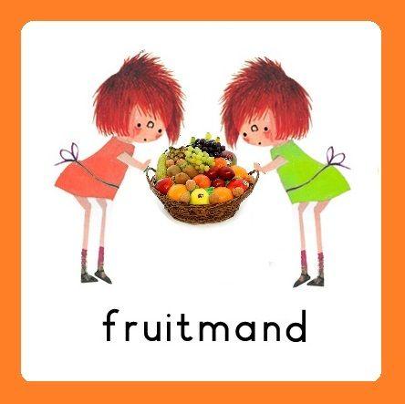 Takenbord Floddertje: fruitmand