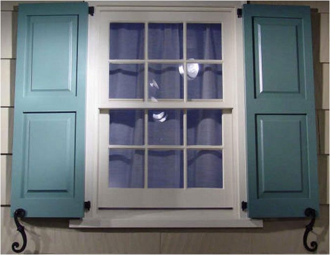 Stunning Exterior Shutters For Mobile Homes 10 Photos