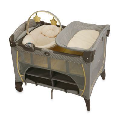 Buy Graco® Pack 'n Play® Playard Newborn Napper® Station DLX in Peyton from Bed Bath & Beyond this iss the playyard i want in these colors lol