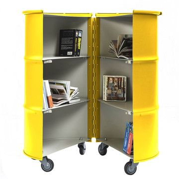 Barrel Library Yellow, 835€, now featured on Fab.