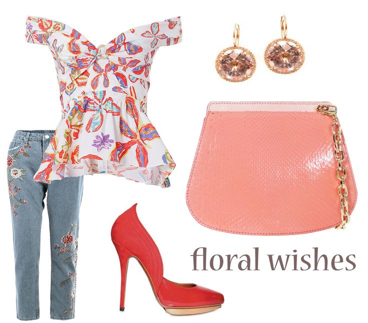 The new Julianne collection of leather bags impresses with the unique modern design while offering your outfits a fresh chic look. The coral purse can truly highlight the femininity of any clothing items. The floral prints go wonderfully with these accessories.