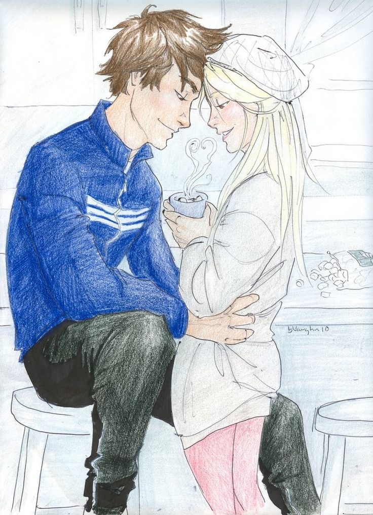 Teddy and Victoire. I can't even handle it when his hair is normal colored, its like when he is with Vic he forgets about everything else around him, and I love it so much!!