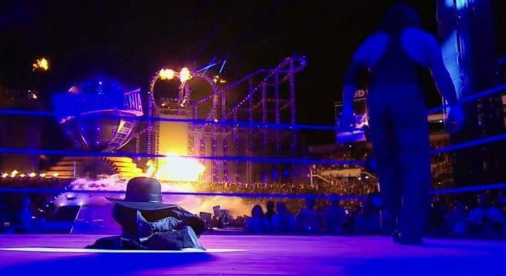 The Undertaker ('El Enterrador' en el momento de su retirada del...