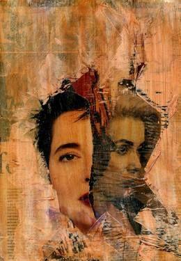 "Saatchi Art Artist CRIS ACQUA; Collage, ""16-ARTE  en  PAPEL."" #art"