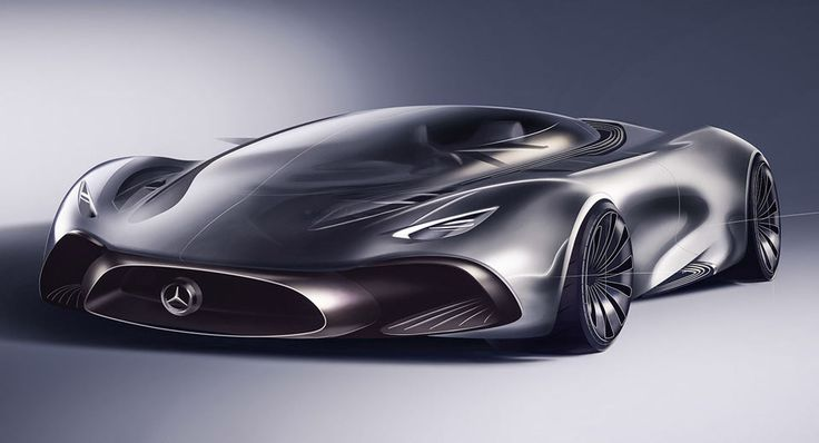 Designer's Take On A Mercedes Hybrid Supercar Looks Fittingly Outlandish