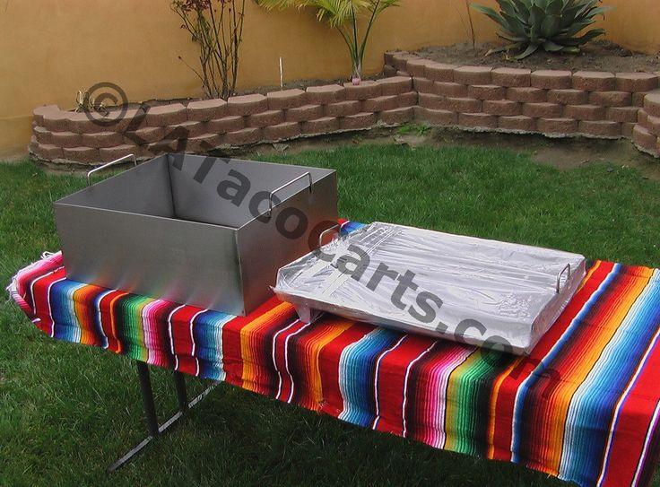 (#48) Custom Griddle - L.A. Taco Carts