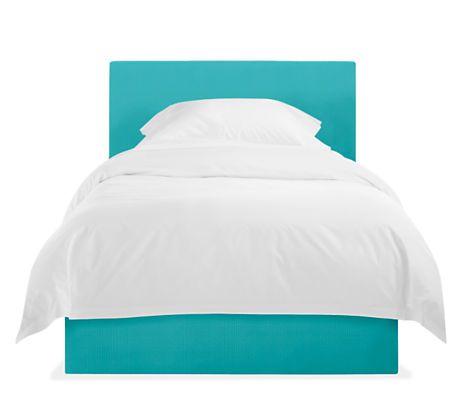 Wyatt Upholstered Kids' Bed - Modern Beds - Modern Kids Furniture - Room &…