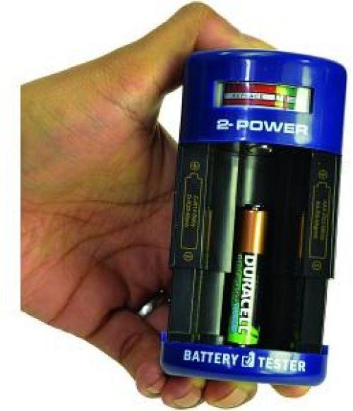 Battery Tester AA AAA, C, D, 9V