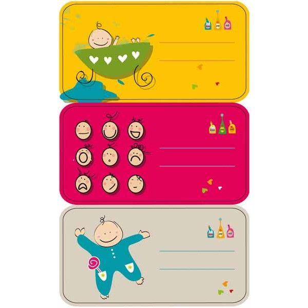 """Comprar 3 Hojas Etiquetas Regalo """" Bebe """" Apli 11609  #regalo #casa #colores #colegio #school #infantil #niños #dibujos #etiquetas"""
