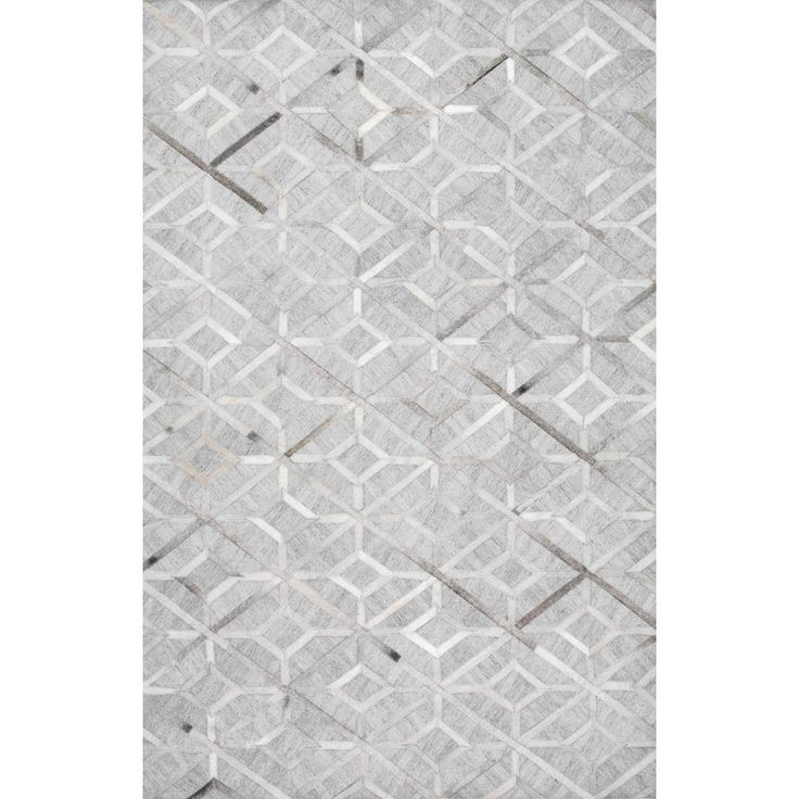 Shop NuLOOM Grey Handmade Cowhide Chanda Area Rug At Lowes Canada Find Our Selection Of Rugs The Lowest Price Guaranteed With Match Off