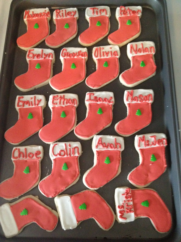 Christmas Stockings for kids class party