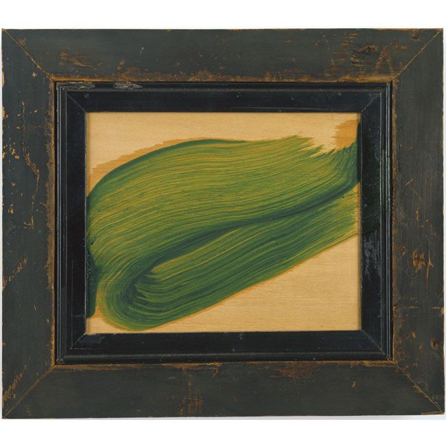 """Howard Hodgkin. """"You need things to look at, things to affect your feelings, and your intelligence, and your heart."""""""