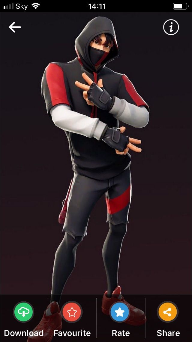 Iconic Dance Fortnite Skin From Season 8 With Images Icon